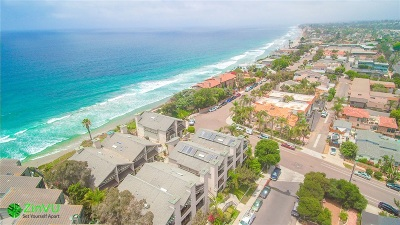 Encinitas Townhouse For Sale: 916 Sealane Dr #B