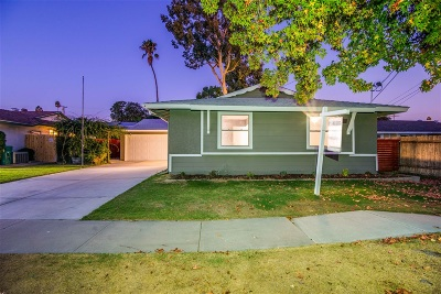 San Diego Multi Family 2-4 For Sale: 8434-8434.5 Lake Gaby
