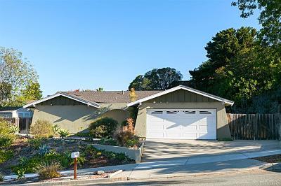 Oceanside Single Family Home For Sale: 4006 Vista Calaveras St