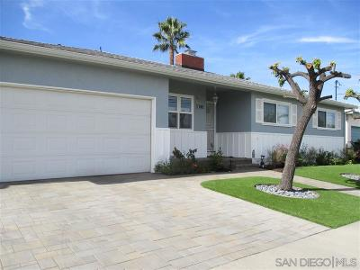 San Diego Single Family Home For Sale: 5140 Leo St.