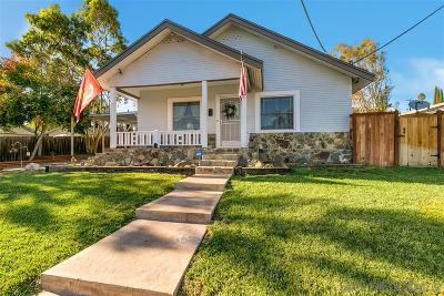 San Diego Single Family Home Sold: 1360 Tarbox St