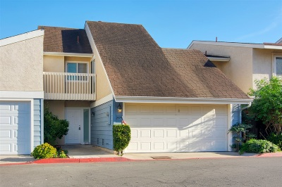 San Diego Townhouse For Sale: 2379 Caminito Agrado