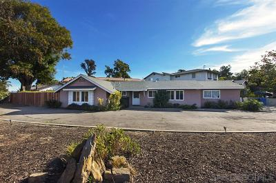 Chula Vista Single Family Home For Sale: 3526 Bonita Rd