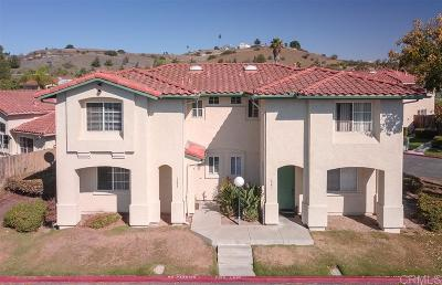 San Diego CA Townhouse For Sale: $390,000