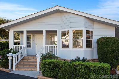 Citrus Gardens, Via Verde Estates, Lawrence Welk, Champagne Village, Rancho Escondido Mobile/Manufactured For Sale: 8975 Lawrence Welk Drive #81