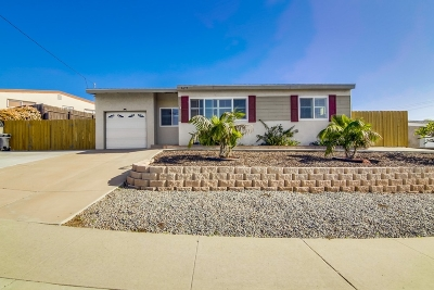 San Diego Single Family Home For Sale: 3675 Nassau Drive
