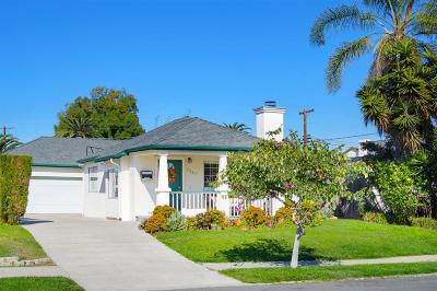 San Diego Single Family Home For Sale: 3340 Copley Ave