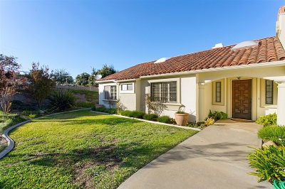 Fallbrook Single Family Home For Sale: 5027 Sleeping Indian