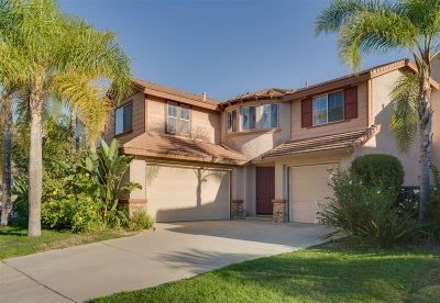 Oceanside Single Family Home For Sale: 4745 Sandalwood