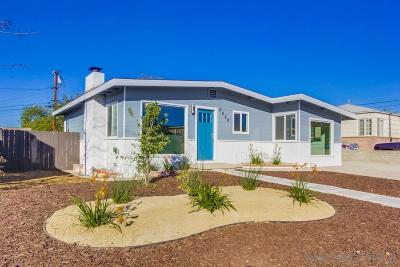 San Diego Single Family Home For Sale: 5268 N Thorn St