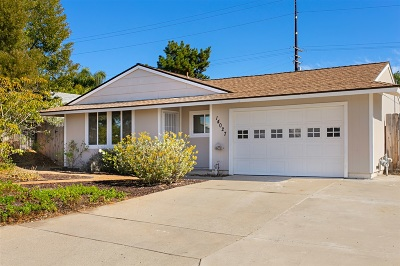 Poway Single Family Home For Sale: 14027 Eastern St