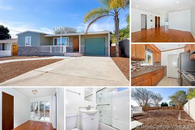 Oceanside Single Family Home For Sale: 1141 S Clementine