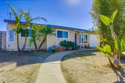 Oceanside Single Family Home For Sale: 1029 Capistrano Dr