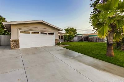 Chula Vista Single Family Home For Sale: 484 Tarata Court