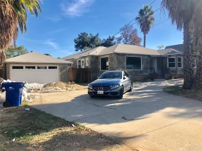 Santee Single Family Home For Sale: 9011 N Magnolia Ave