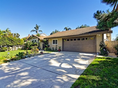 Solana Beach Single Family Home For Sale: 679 Dell