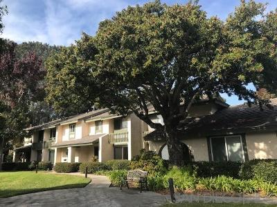 Del Mar Townhouse For Sale: 2765 Caminito Eldorado