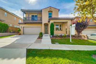 Chula Vista Single Family Home For Sale: 1716 Webber Way