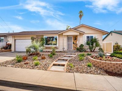 Chula Vista Single Family Home For Sale: 1682 Ithaca