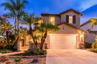Carlsbad Single Family Home For Sale: 6419 Calmeria Pl