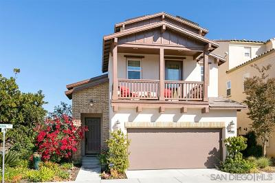Carlsbad Single Family Home For Sale: 2402 Trona Way
