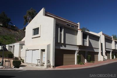 San Diego Townhouse For Sale: 6132 Caminito Baeza