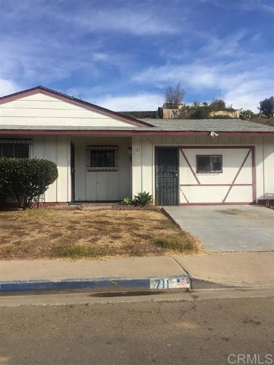 San Diego Single Family Home Contingent: 711 51 St