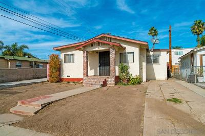 North Park, North Park - San Diego, North Park Bordering South Park, North Park, Kenningston, North Park/City Heights Single Family Home For Sale: 3326 Polk Avenue