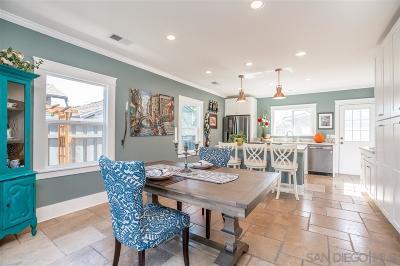 San Diego Single Family Home For Sale: 4739 Arizona St.