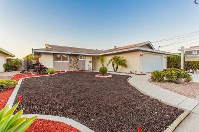 Oceanside Single Family Home For Sale: 3428 Las Vegas Drive