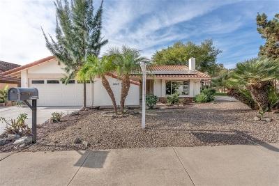 Escondido Single Family Home For Sale: 2027 David Dr