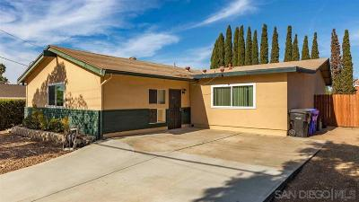 Clairemont, Clairemont East, Clairemont Mesa, Clairemont Mesa East Single Family Home For Sale: 5638 Camber