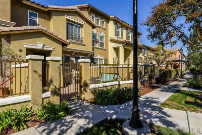 San Diego Townhouse For Sale: 10441 Whitcomb Way #146