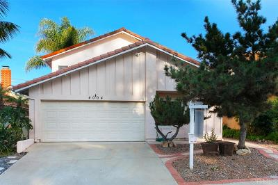 Carlsbad Single Family Home For Sale: 4004 Sierra Morena Ave