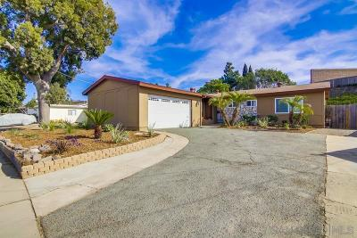Chula Vista Single Family Home For Sale: 338 Turquoise Ct