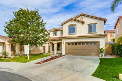 Chula Vista Single Family Home For Sale: 1585 Dunsmuir Ct