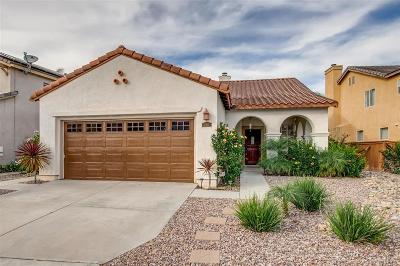 Chula Vista Single Family Home For Sale: 2421 Falcon Valley
