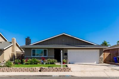 San Diego Single Family Home For Sale: 805 Narwhal St.