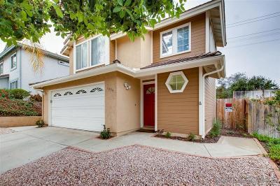Escondido Single Family Home For Sale: 1954 Tecate Gln