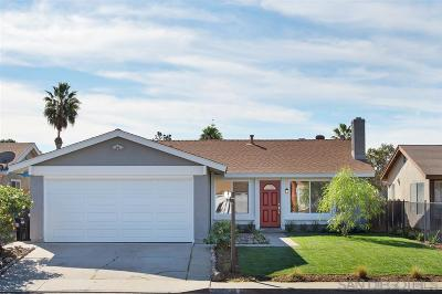 San Diego Single Family Home For Sale: 8705 Cetus
