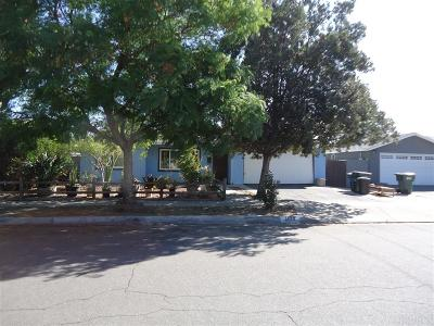 Escondido Single Family Home For Sale: 1429 Wilson Ave