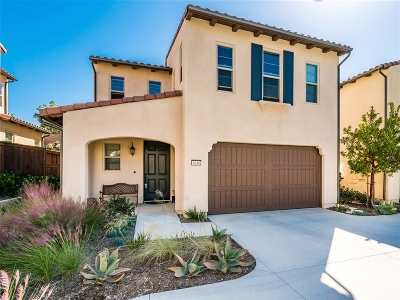 Carlsbad Single Family Home For Sale: 6640 Hollyleaf Ct