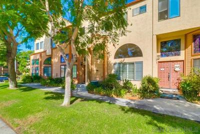 San Diego Townhouse For Sale: 8894 Highwood Dr #Unit B