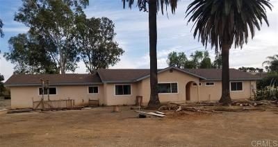 San Marcos Single Family Home For Sale: 359 Richland Rd.