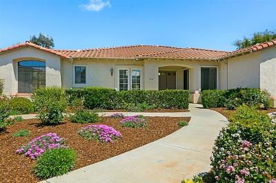 Fallbrook Single Family Home For Sale: 3834 Cedar Vale Way