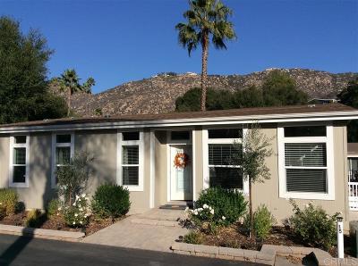 Citrus Gardens, Via Verde Estates, Lawrence Welk, Champagne Village, Rancho Escondido Mobile/Manufactured For Sale: 8975 Lawrence Welk Drive #15
