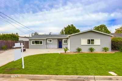 el cajon Single Family Home For Sale: 1459 Primrose Dr