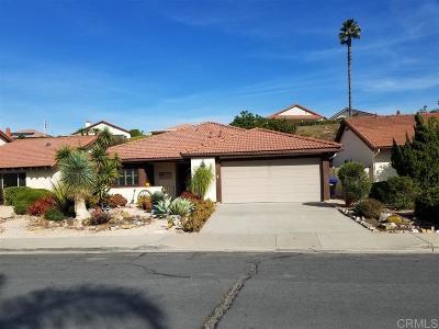 San Diego Single Family Home For Sale: 17547 Cumana Terrace