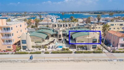 Attached For Sale: 3443 Ocean Front Walk #K