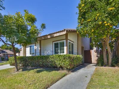 Oceanside Single Family Home For Sale: 4787 Mayflower Way